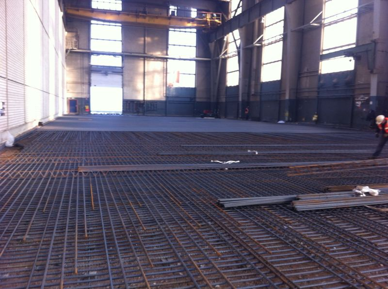 Renovatie vloer RDM