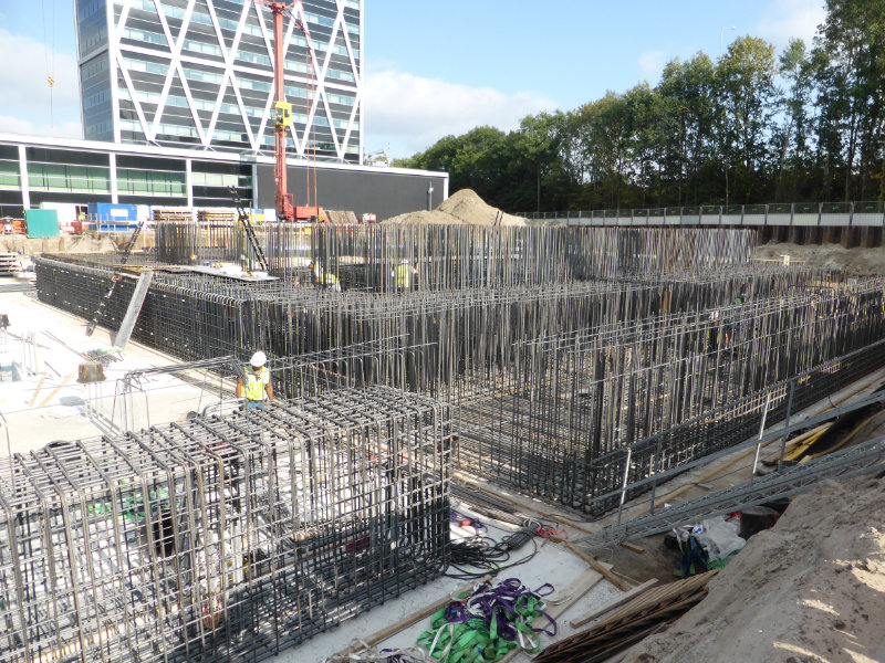 Betonwerk onderbouw